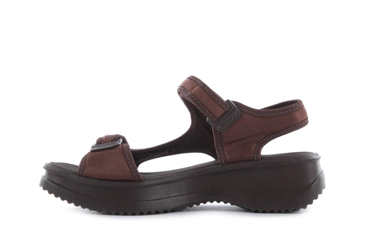 Sandały azaleia 320 323 brown 18, brąz, materiał - obuwie sportowe - buty damskie - kobieta 9