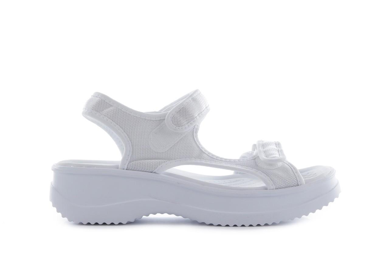 Sandały azaleia 320 323 white 18, biały, materiał - azaleia - nasze marki 6
