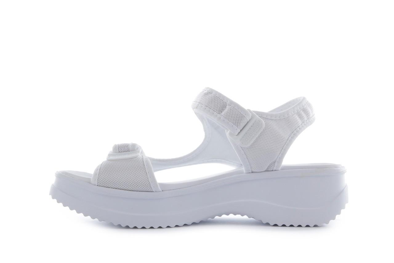 Sandały azaleia 320 323 white 18, biały, materiał - azaleia - nasze marki 8