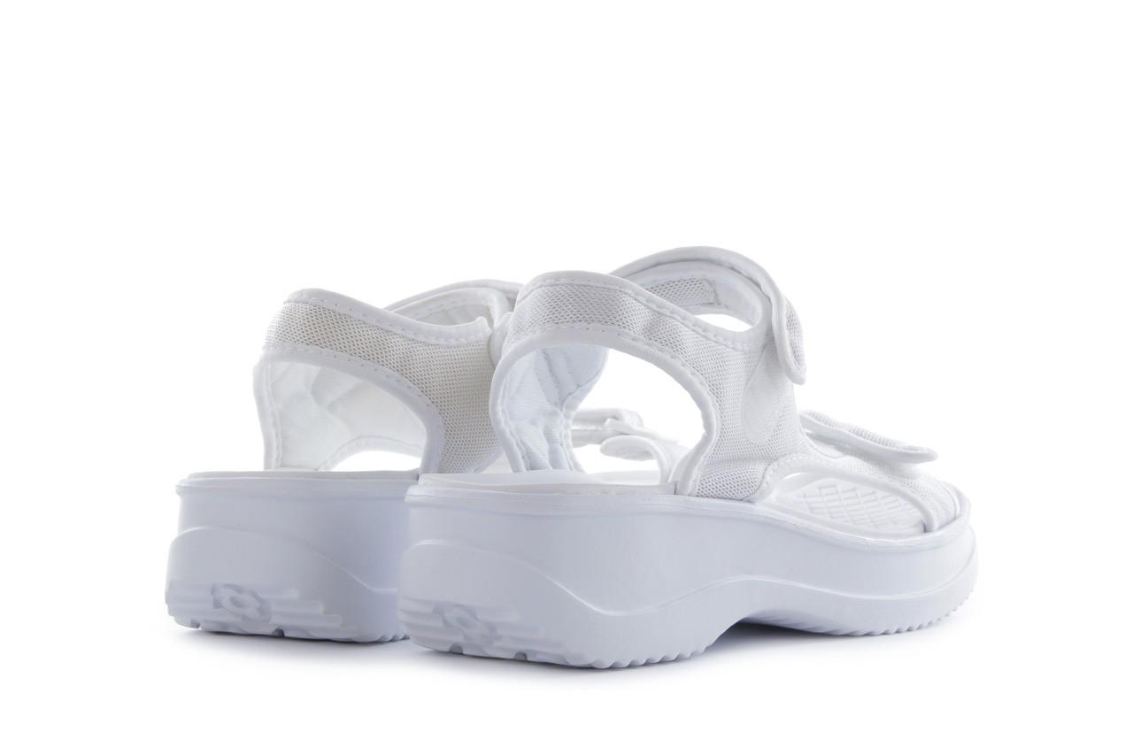Sandały azaleia 320 323 white 18, biały, materiał - azaleia - nasze marki 10