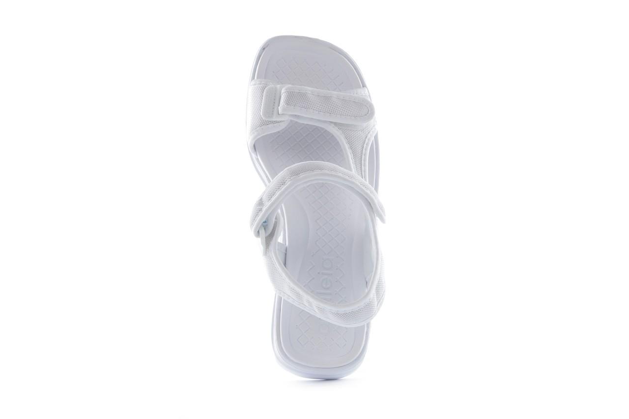 Sandały azaleia 320 323 white 18, biały, materiał - azaleia - nasze marki 9