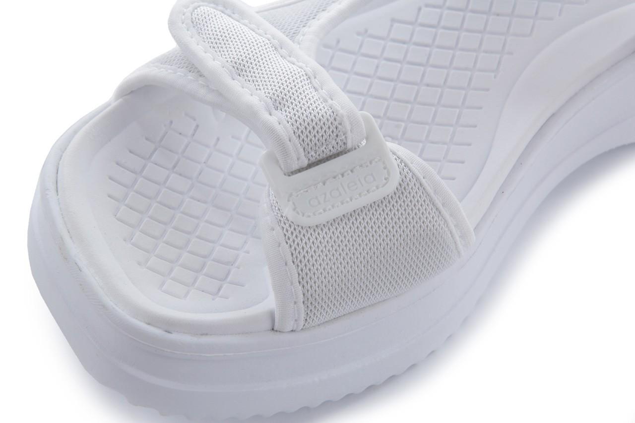 Sandały azaleia 320 323 white 18, biały, materiał - azaleia - nasze marki 11