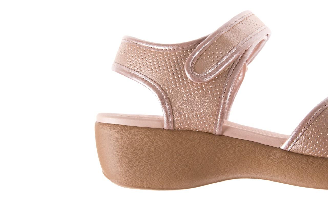 Sandały azaleia 346 601 perf iguan, beż, materiał - azaleia - nasze marki 12