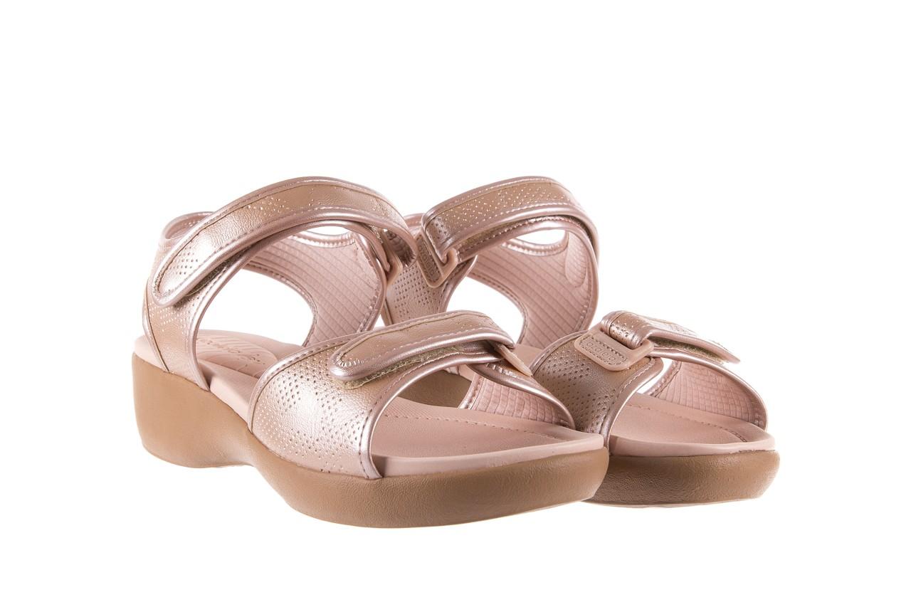 Sandały azaleia 346 601 perf iguan, beż, materiał - azaleia - nasze marki 8