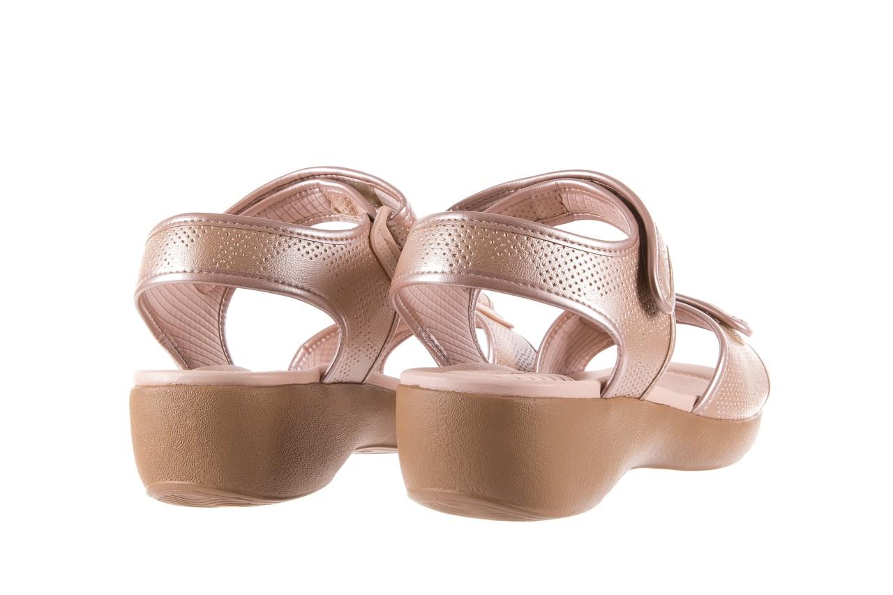 Sandały azaleia 346 601 perf iguan, beż, materiał - azaleia - nasze marki 10