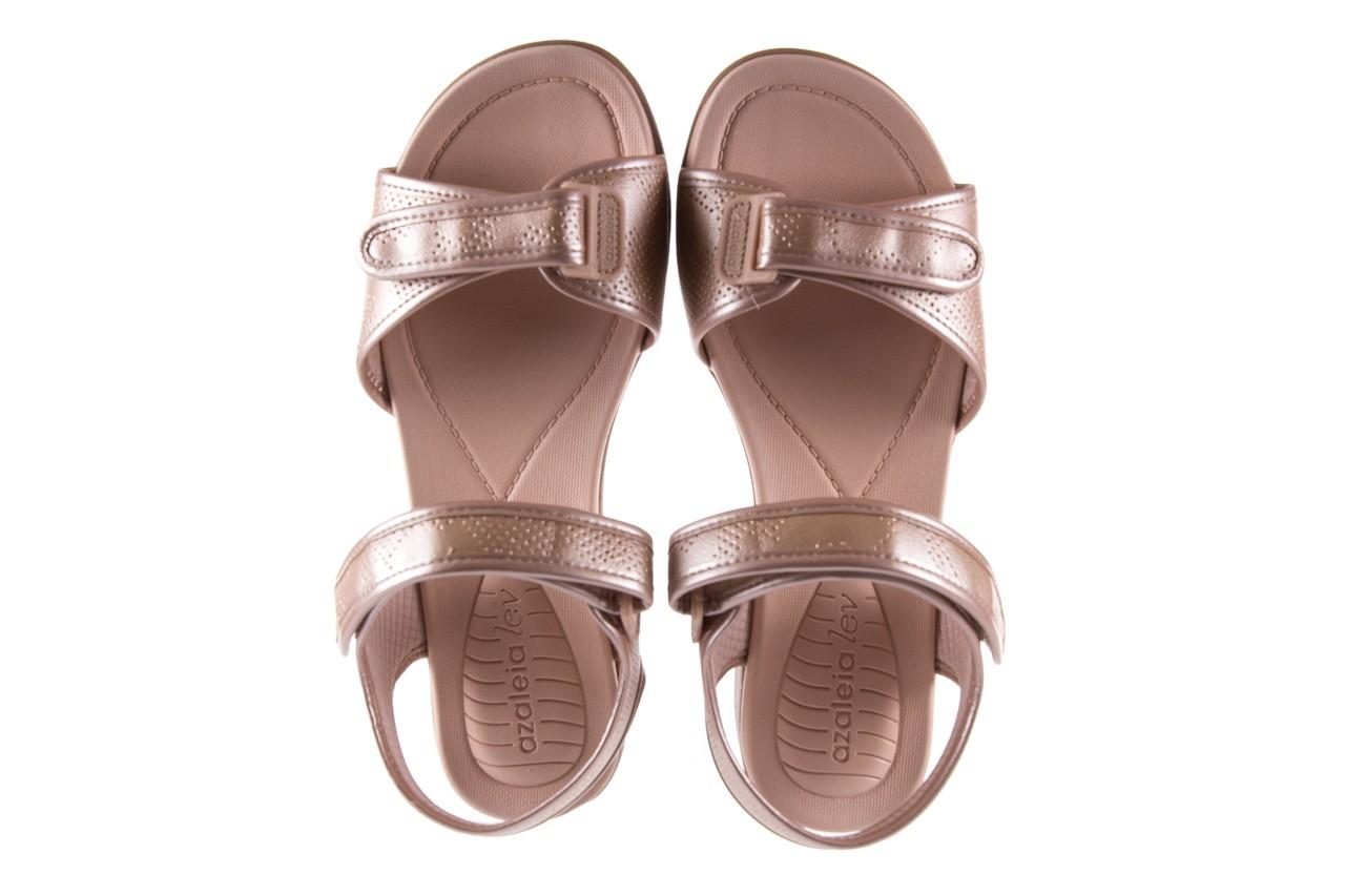 Sandały azaleia 346 601 perf iguan, beż, materiał - azaleia - nasze marki 11
