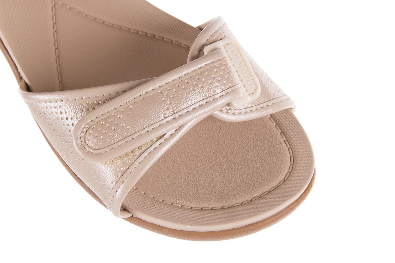 Sandały azaleia 346 601 perf ivory, beż, materiał  - azaleia - nasze marki 12