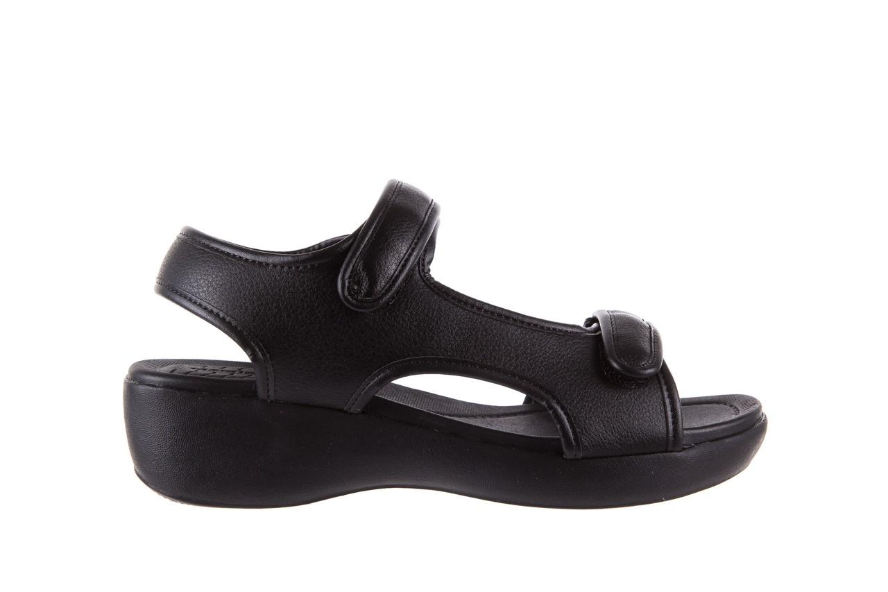 Sandały azaleia 346 602 napa black, czarny, materiał  - azaleia - nasze marki 7