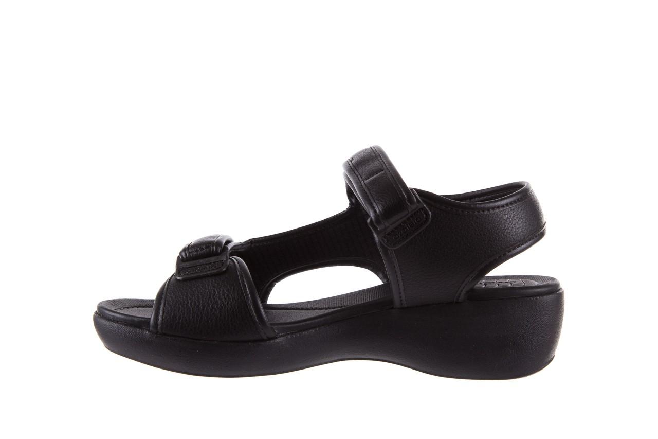 Sandały azaleia 346 602 napa black, czarny, materiał  - azaleia - nasze marki 9