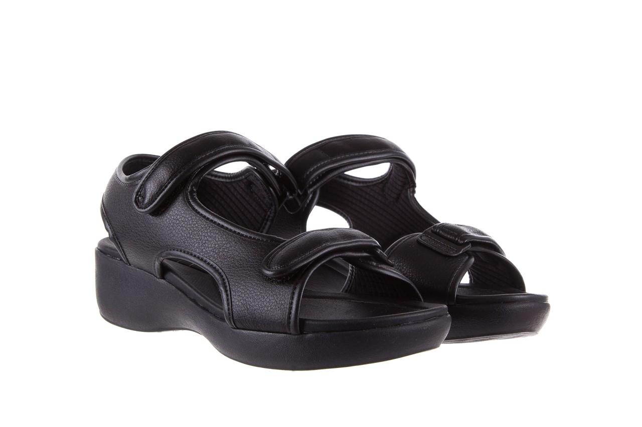 Sandały azaleia 346 602 napa black, czarny, materiał  - azaleia - nasze marki 8