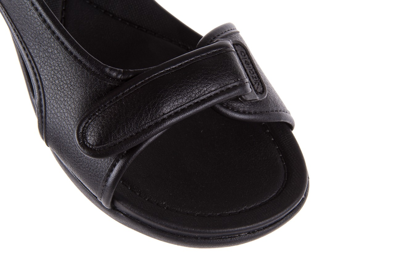 Sandały azaleia 346 602 napa black, czarny, materiał  - azaleia - nasze marki 13