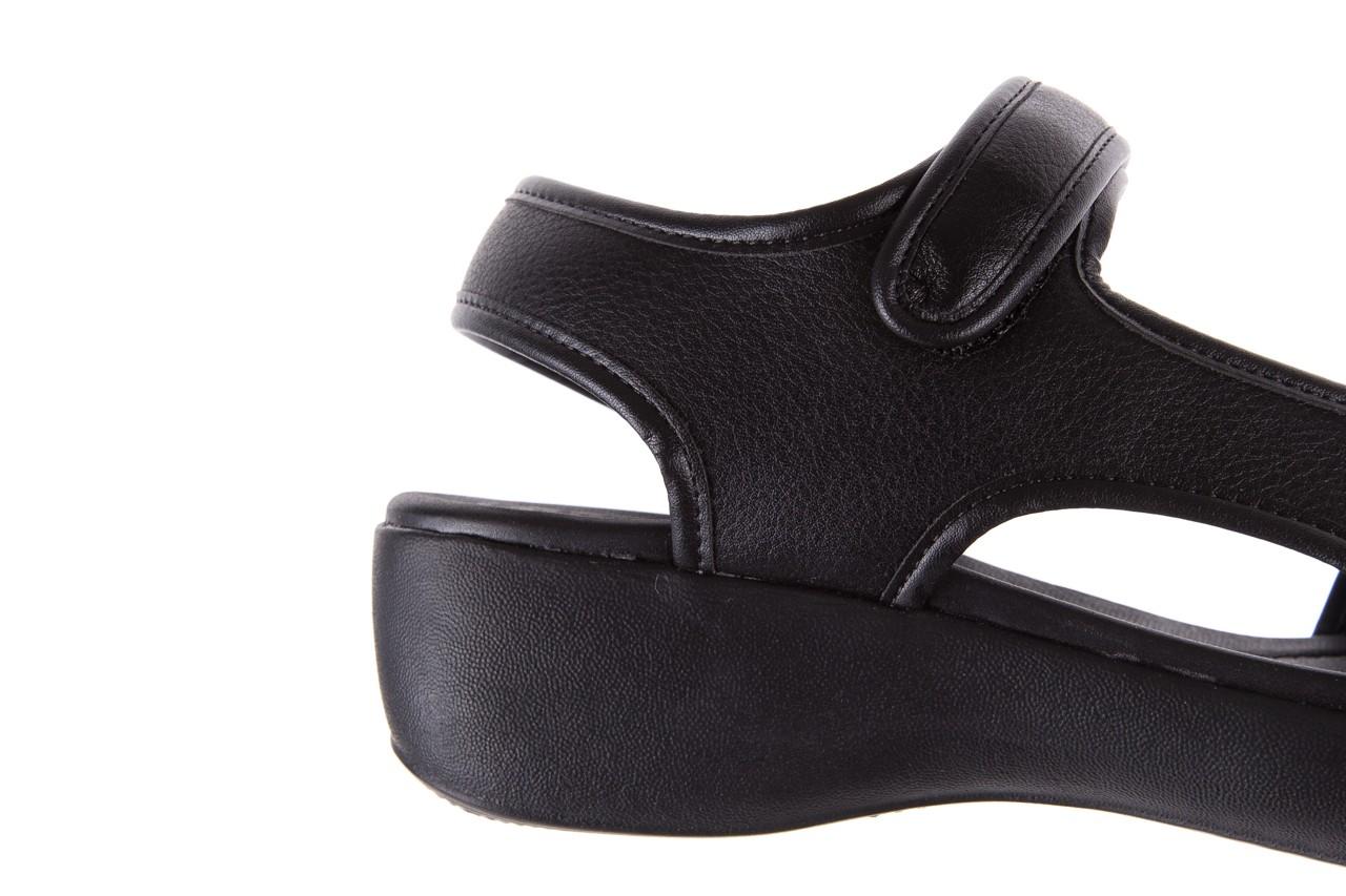 Sandały azaleia 346 602 napa black, czarny, materiał  - azaleia - nasze marki 12