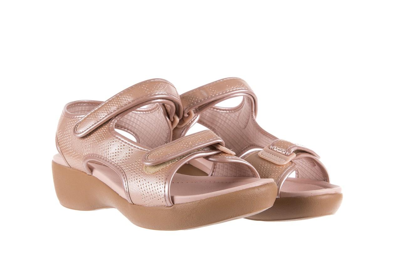 Sandały azaleia 346 602 perf iguan, róż, materiał - sandały - letnie hity cenowe 8