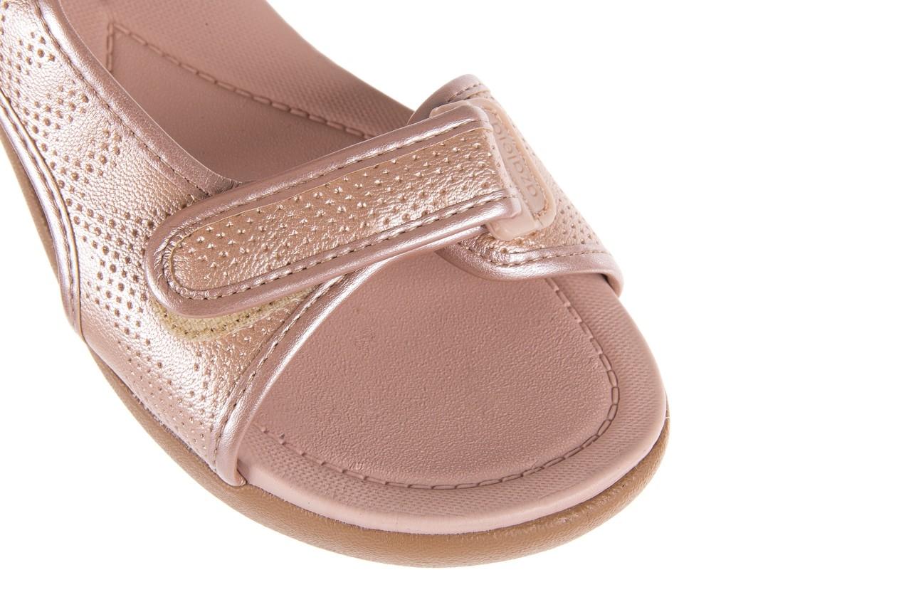 Sandały azaleia 346 602 perf iguan, róż, materiał - sandały - letnie hity cenowe 13
