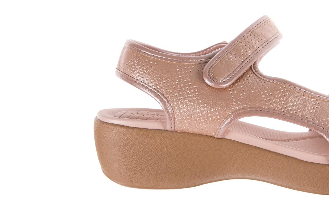 Sandały azaleia 346 602 perf iguan, róż, materiał - sandały - letnie hity cenowe 12
