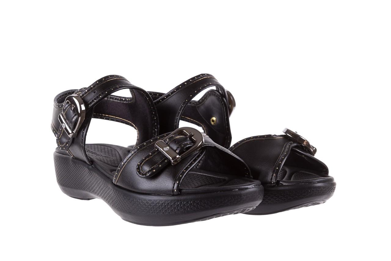 Sandały azaleia 355 788 napa black, czarny, materiał - azaleia - nasze marki 8