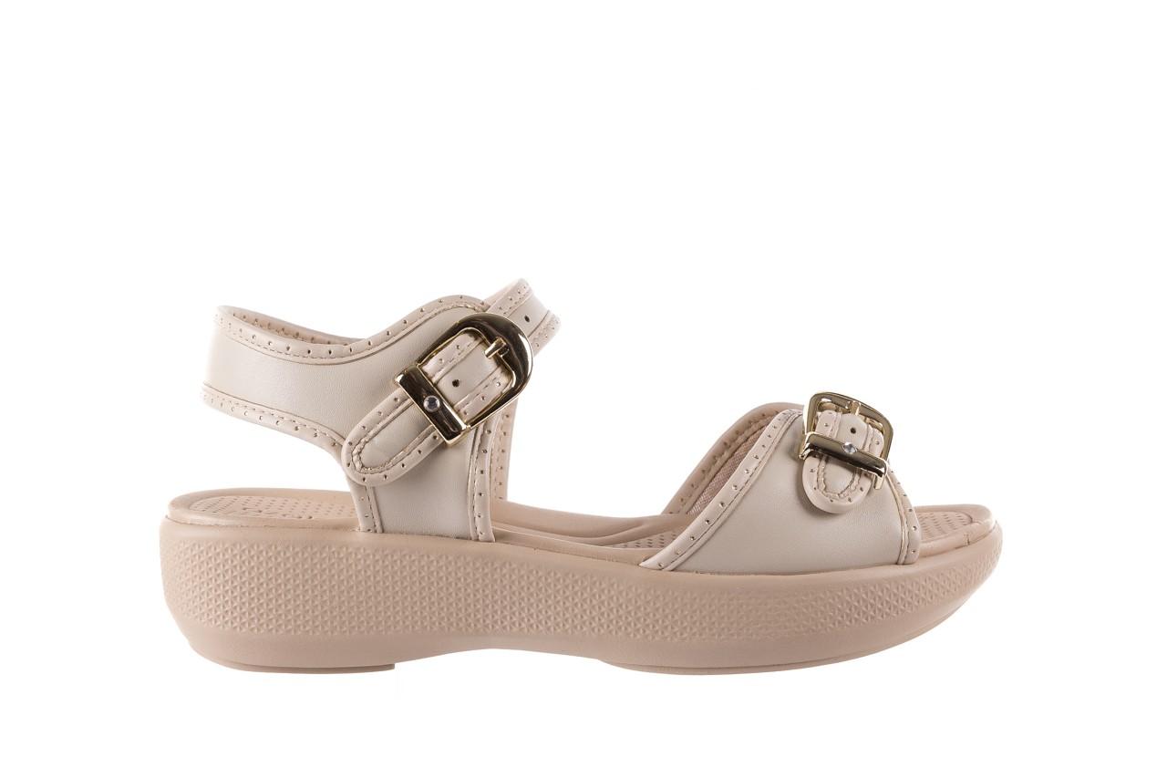 Sandały azaleia 355 788 napa ivory, beż, materiał - sandały - letnie hity cenowe 7