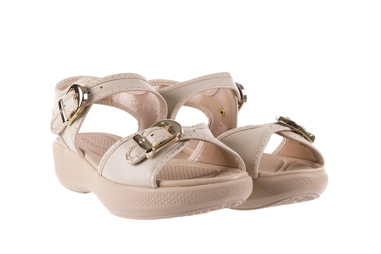 Sandały azaleia 355 788 napa ivory, beż, materiał - sandały - letnie hity cenowe 8