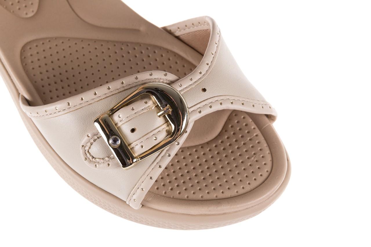 Sandały azaleia 355 788 napa ivory, beż, materiał - sandały - letnie hity cenowe 12