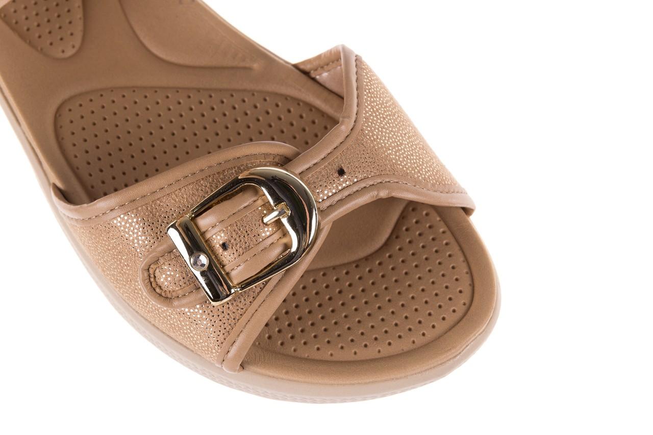 Sandały azaleia 355 789 point beige, beż, materiał - sandały - letnie hity cenowe 12