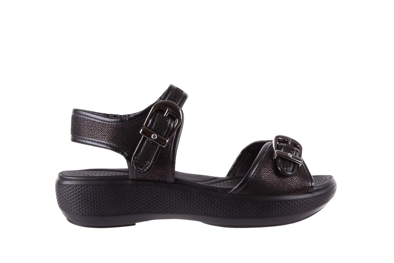 Sandały azaleia 355 789 point black, czarny, materiał - azaleia - nasze marki 7