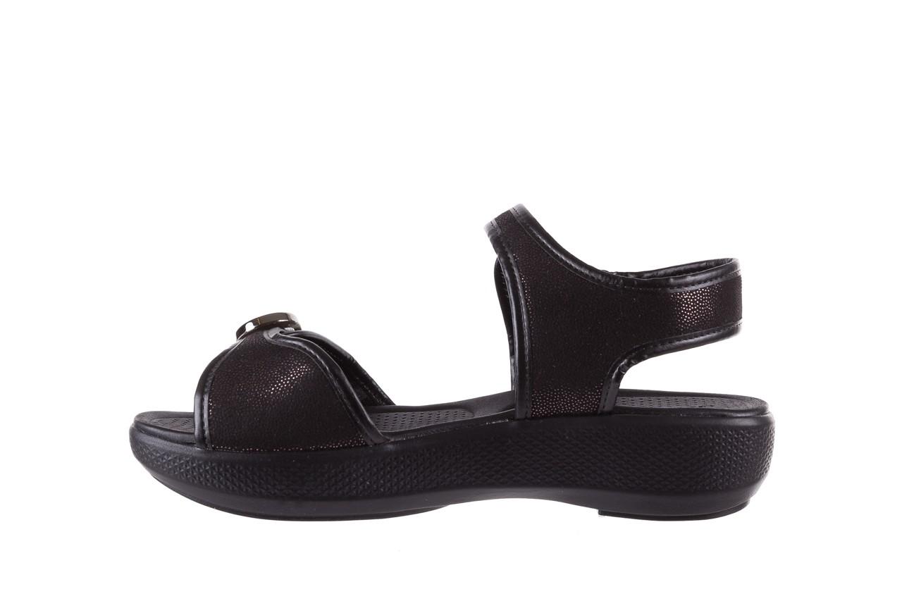 Sandały azaleia 355 789 point black, czarny, materiał - azaleia - nasze marki 9