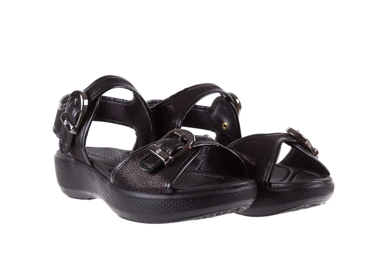 Sandały azaleia 355 789 point black, czarny, materiał - azaleia - nasze marki 8