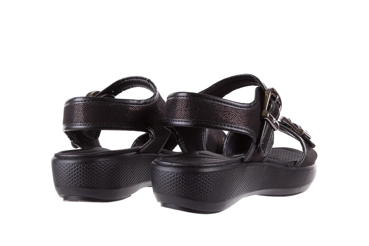 Sandały azaleia 355 789 point black, czarny, materiał - azaleia - nasze marki 10