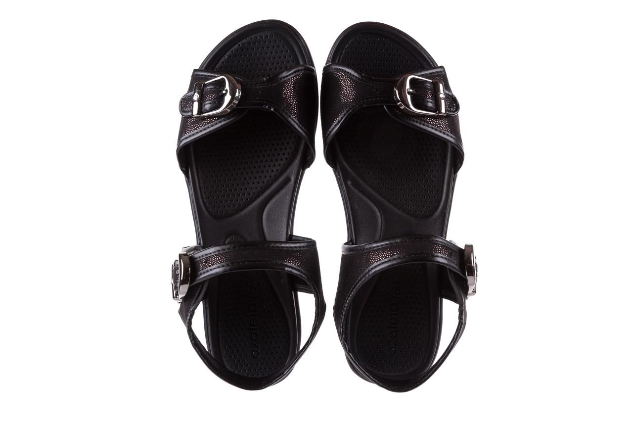 Sandały azaleia 355 789 point black, czarny, materiał - azaleia - nasze marki 11