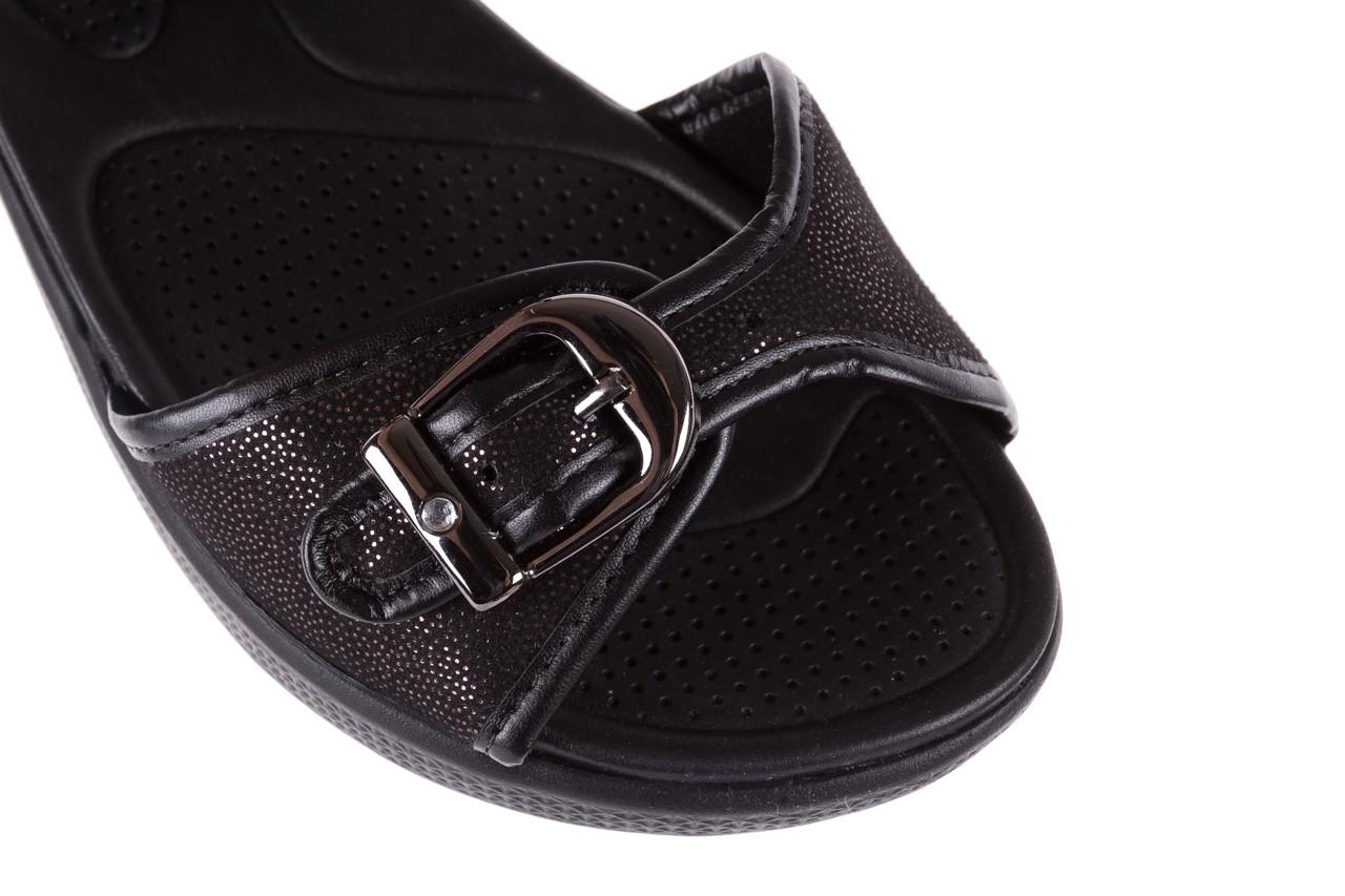 Sandały azaleia 355 789 point black, czarny, materiał - azaleia - nasze marki 12