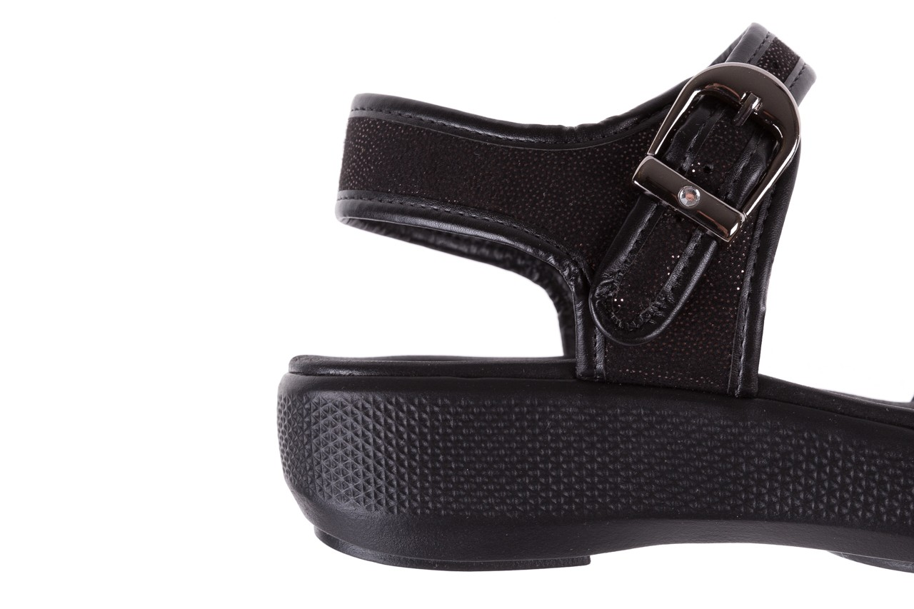 Sandały azaleia 355 789 point black, czarny, materiał - azaleia - nasze marki 13