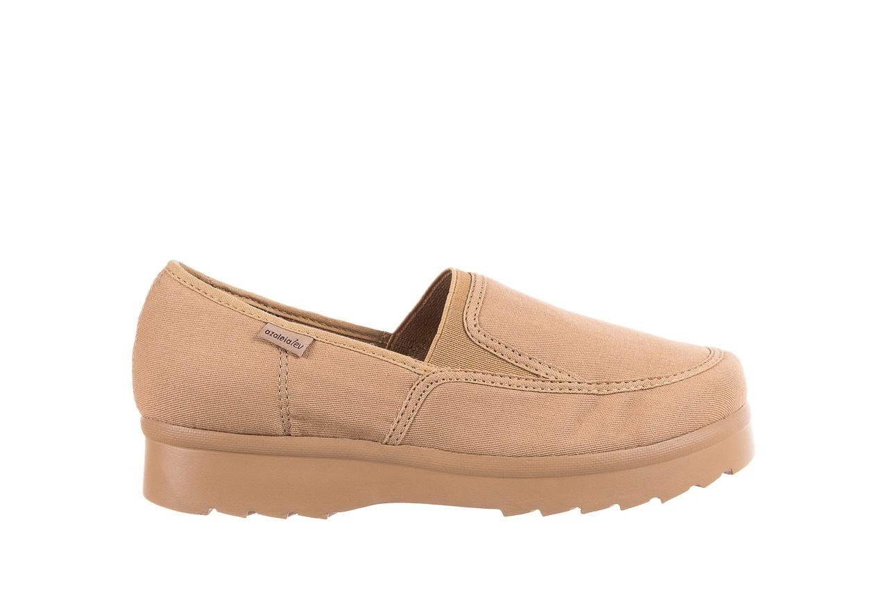 Półbuty azaleia 630 187 beige, beż, materiał  - obuwie sportowe - dla niej - dodatkowe -10% 7