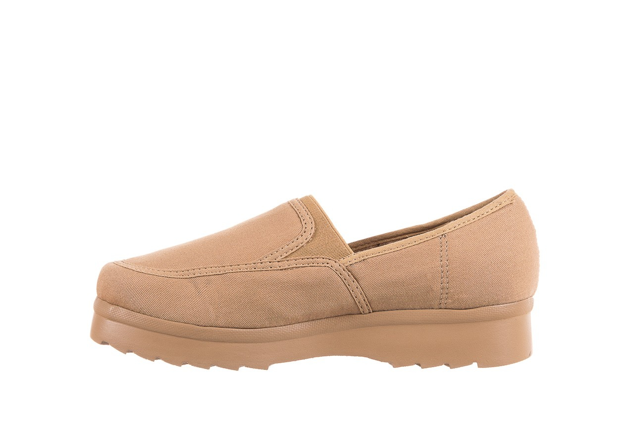 Półbuty azaleia 630 187 beige, beż, materiał  - obuwie sportowe - dla niej - dodatkowe -10% 9