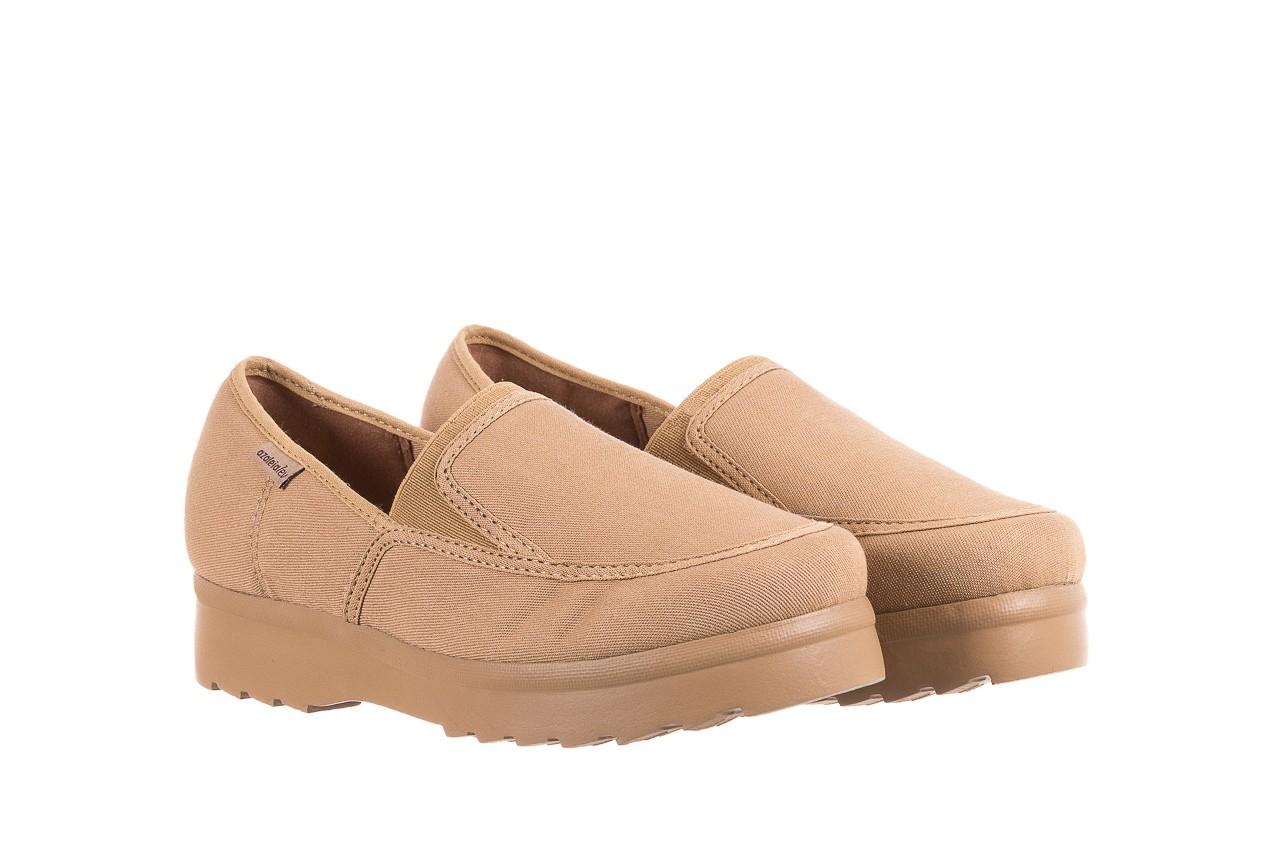 Półbuty azaleia 630 187 beige, beż, materiał  - obuwie sportowe - dla niej - dodatkowe -10% 8