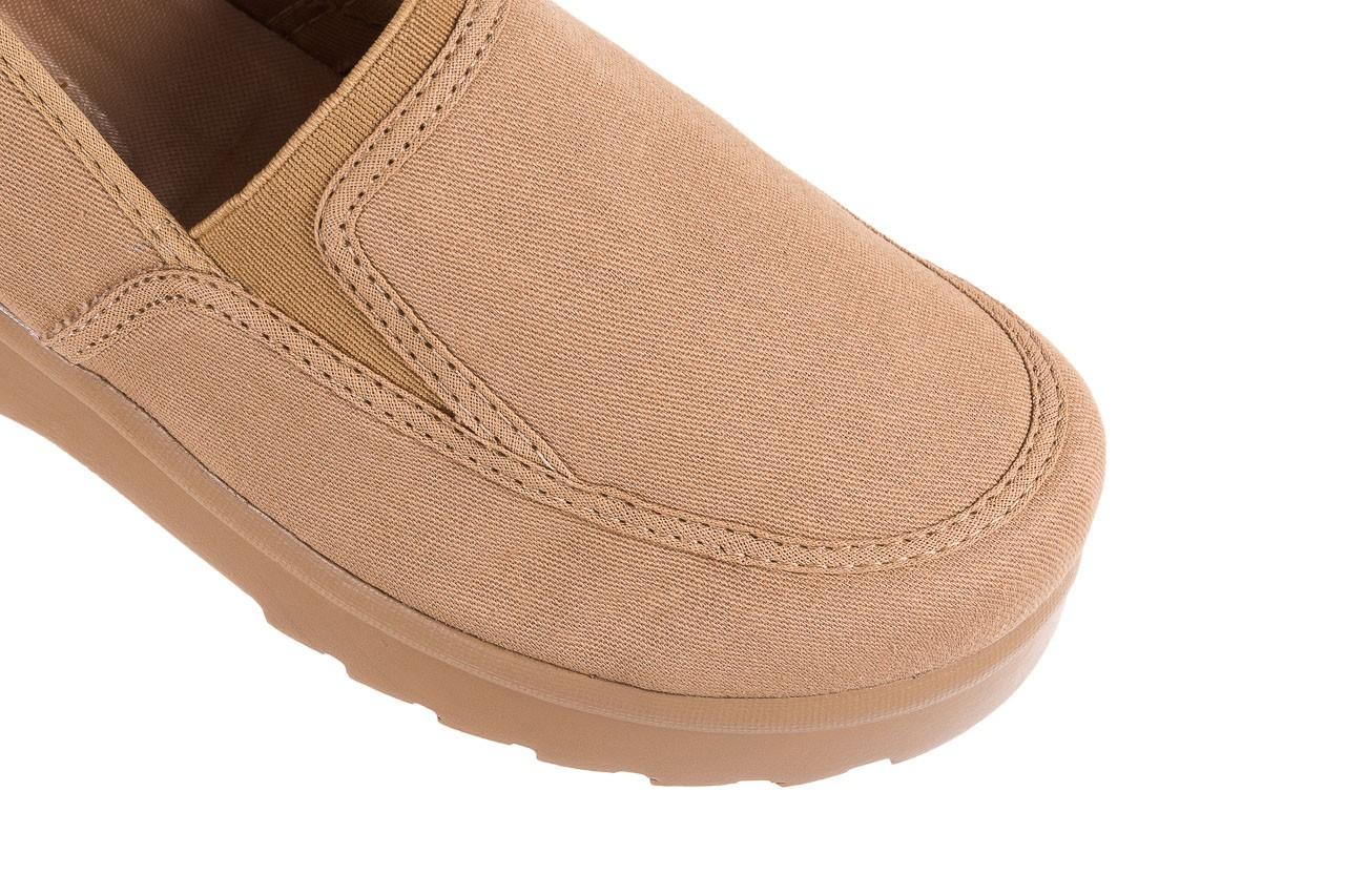 Półbuty azaleia 630 187 beige, beż, materiał  - obuwie sportowe - dla niej - dodatkowe -10% 11