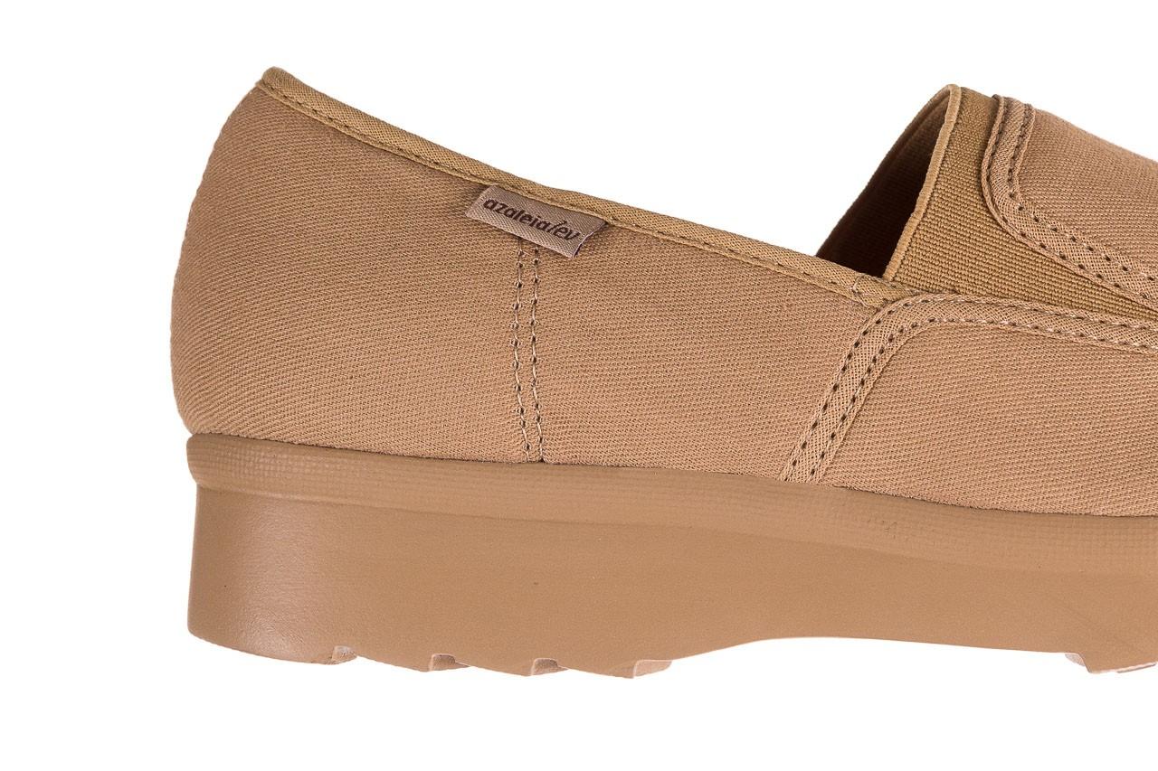 Półbuty azaleia 630 187 beige, beż, materiał  - obuwie sportowe - dla niej - dodatkowe -10% 12