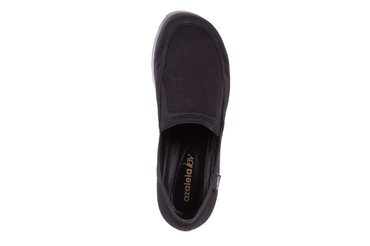 Półbuty azaleia 630 187 black, czarny, materiał  - azaleia - nasze marki 13