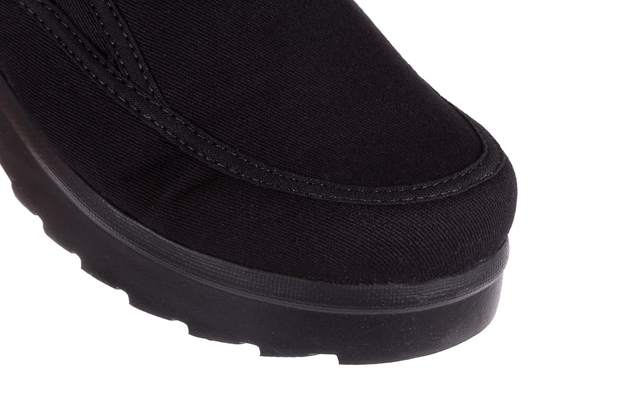 Półbuty azaleia 630 187 black, czarny, materiał  - azaleia - nasze marki 12