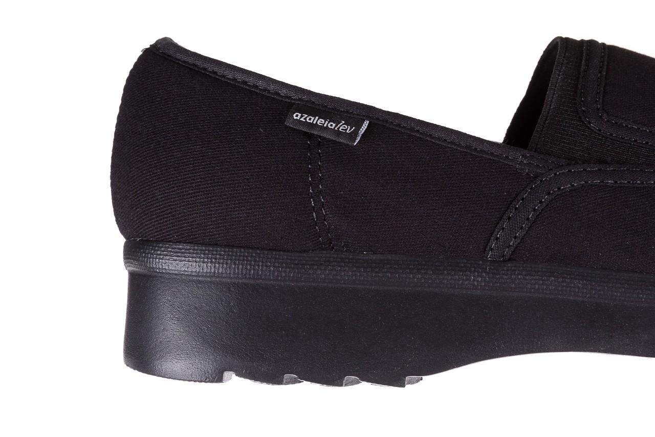 Półbuty azaleia 630 187 black, czarny, materiał  - azaleia - nasze marki 11