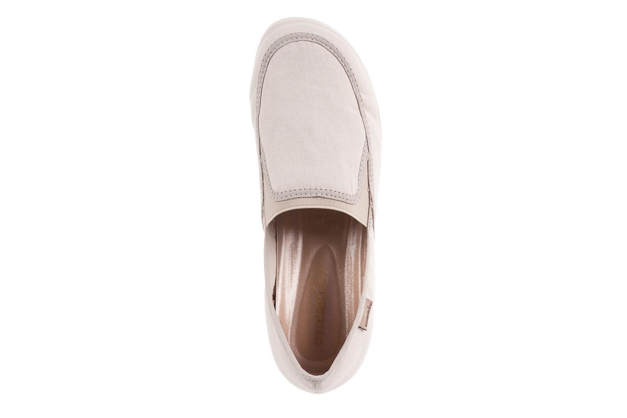 Półbuty azaleia 630 187 ivory, kremowy, materiał  - obuwie sportowe - dla niej - dodatkowe -10% 13