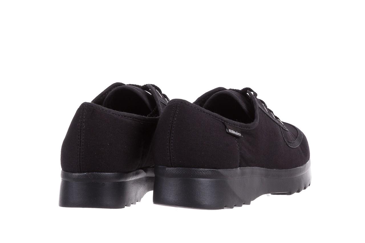 Półbuty azaleia 630 189 black, czarny, materiał  - azaleia - nasze marki 10