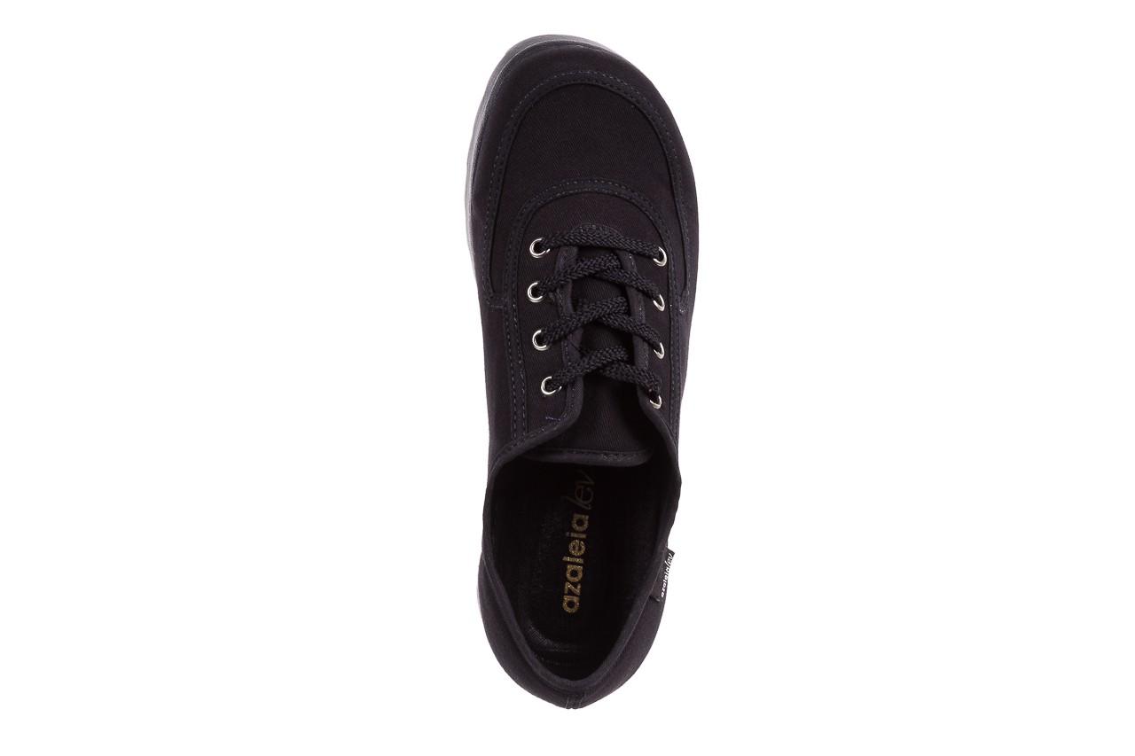 Półbuty azaleia 630 189 black, czarny, materiał  - azaleia - nasze marki 13