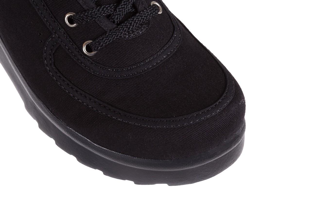 Półbuty azaleia 630 189 black, czarny, materiał  - azaleia - nasze marki 12