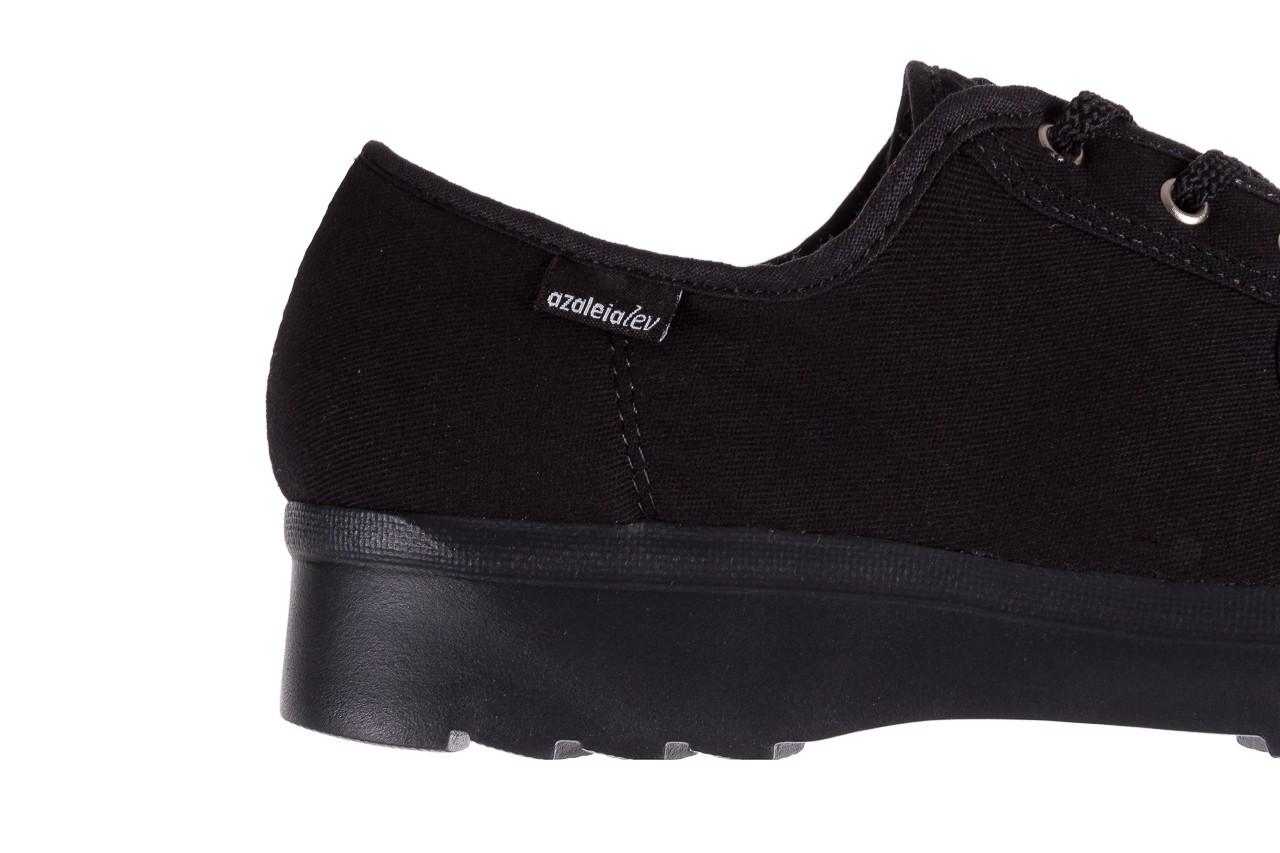 Półbuty azaleia 630 189 black, czarny, materiał  - azaleia - nasze marki 11