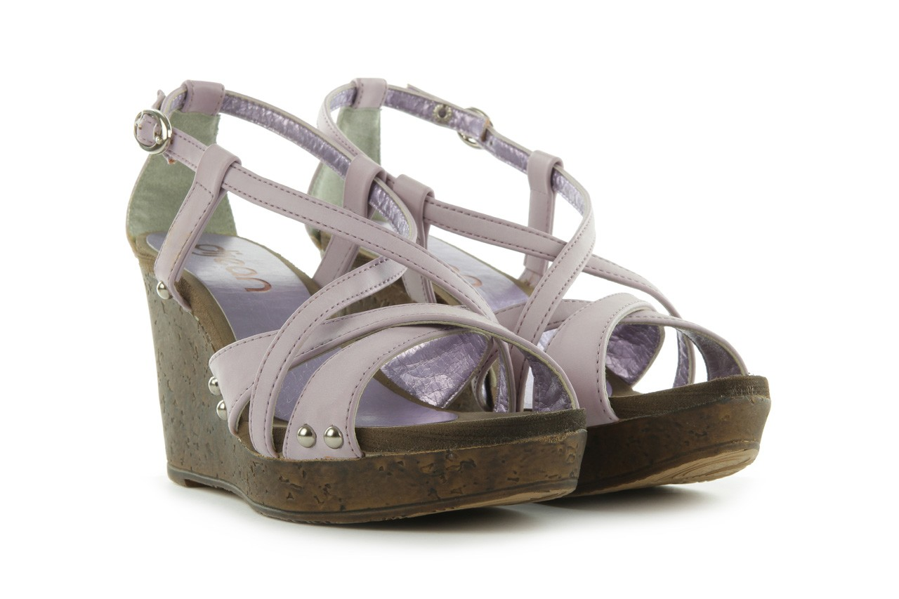 Sandały azaleia 633-love630 lilac, fiolet, skóra ekologiczna - dijean - nasze marki 8