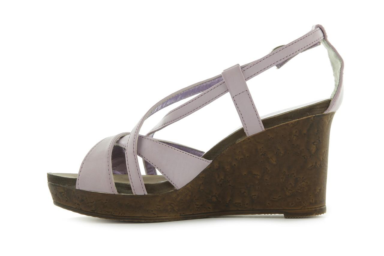Sandały azaleia 633-love630 lilac, fiolet, skóra ekologiczna - dijean - nasze marki 9