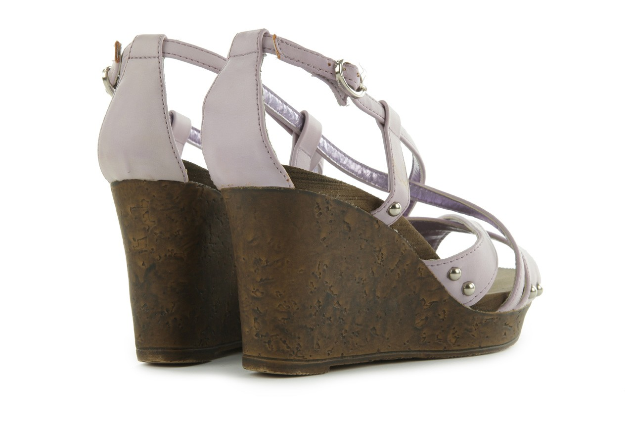 Sandały azaleia 633-love630 lilac, fiolet, skóra ekologiczna - dijean - nasze marki 10