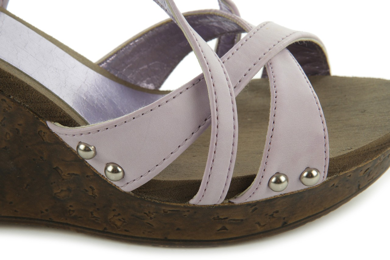 Sandały azaleia 633-love630 lilac, fiolet, skóra ekologiczna - dijean - nasze marki 12