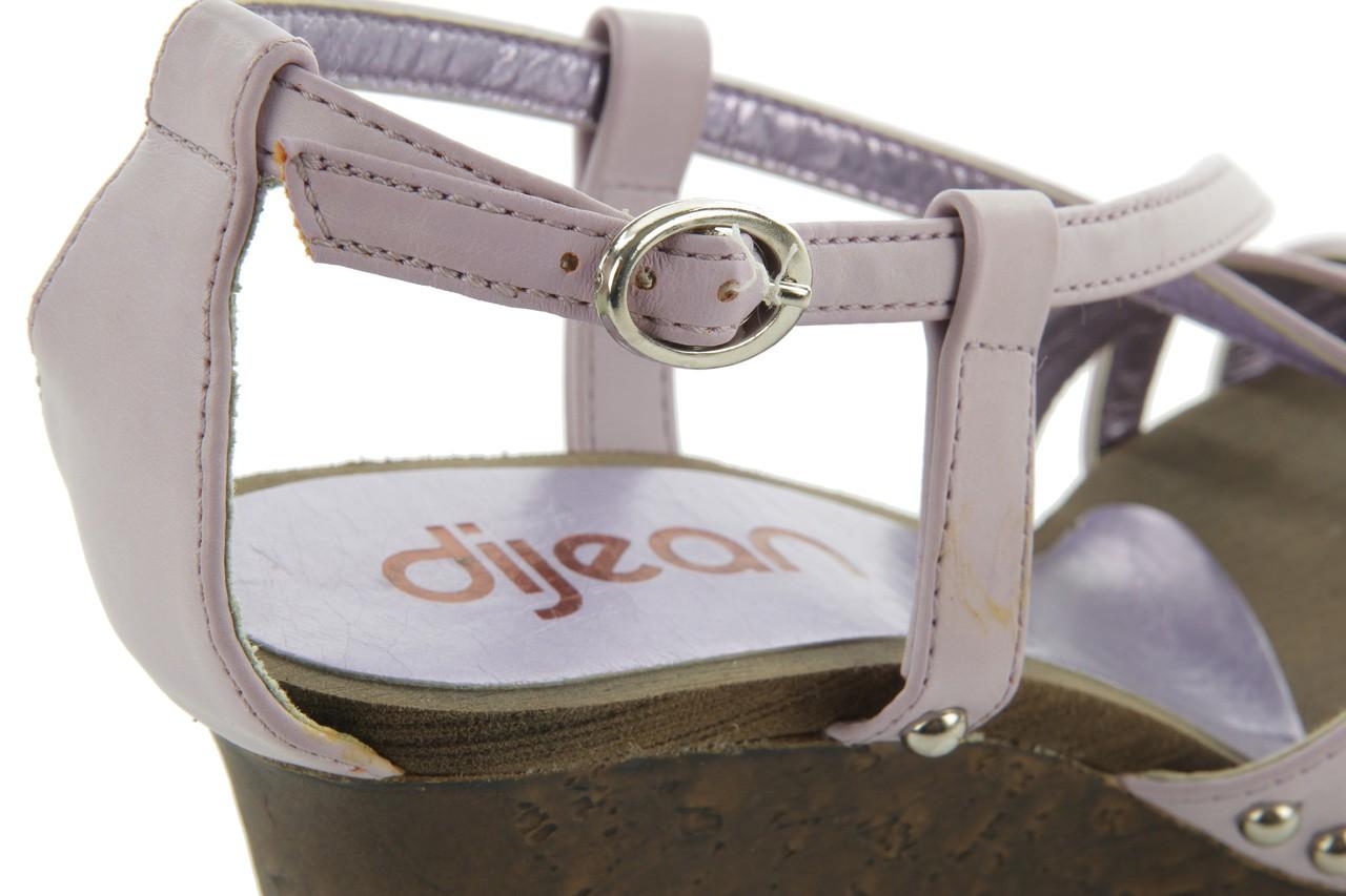 Sandały azaleia 633-love630 lilac, fiolet, skóra ekologiczna - dijean - nasze marki 13