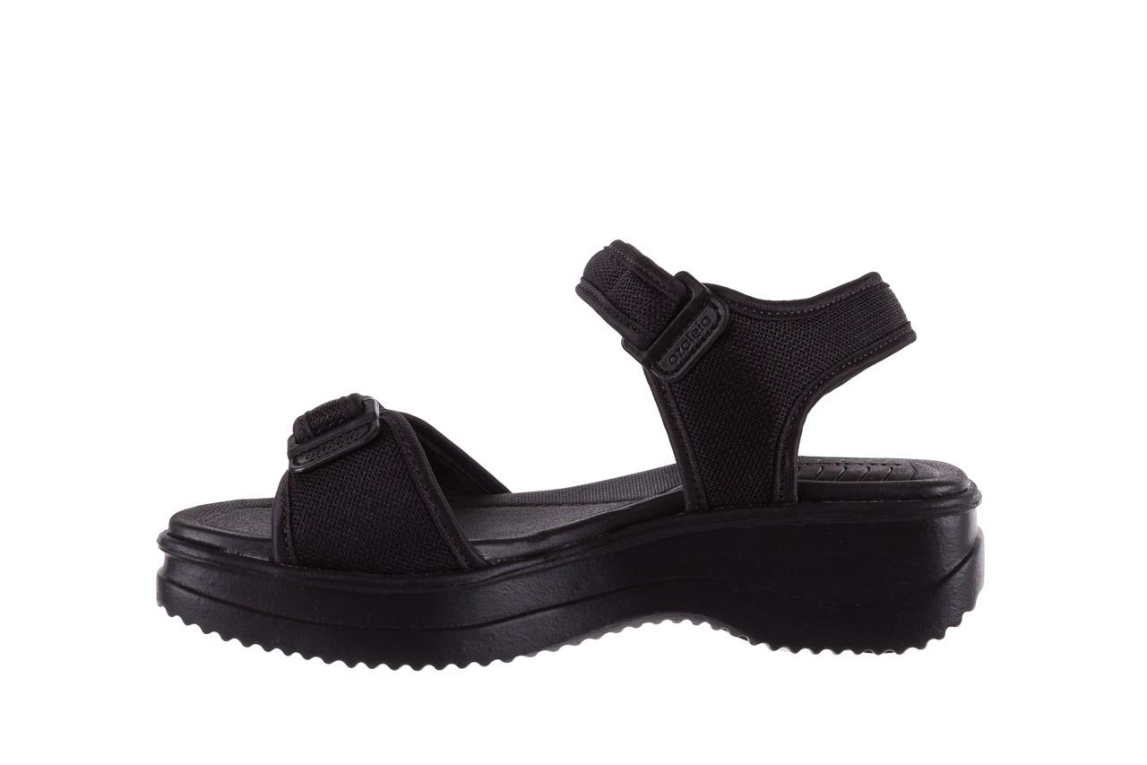 Sandały azaleia 320 321 black 18, czarny, materiał - azaleia - nasze marki 9
